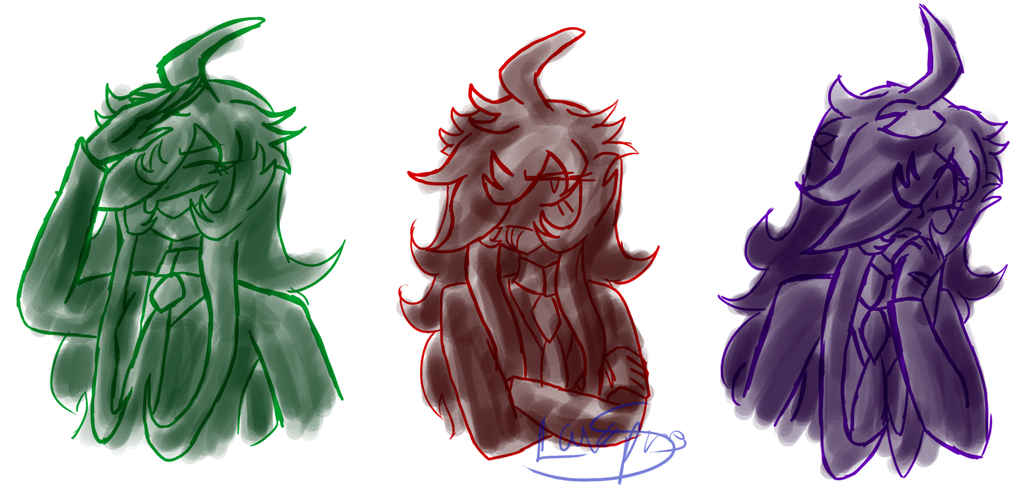 Rikka has Emotions by LavaSpinosaurus