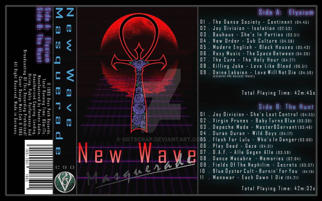 New Wave Masquerade | Cassette Cover