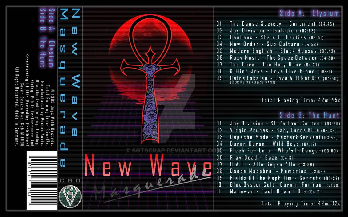 New Wave Masquerade | Cassette Cover