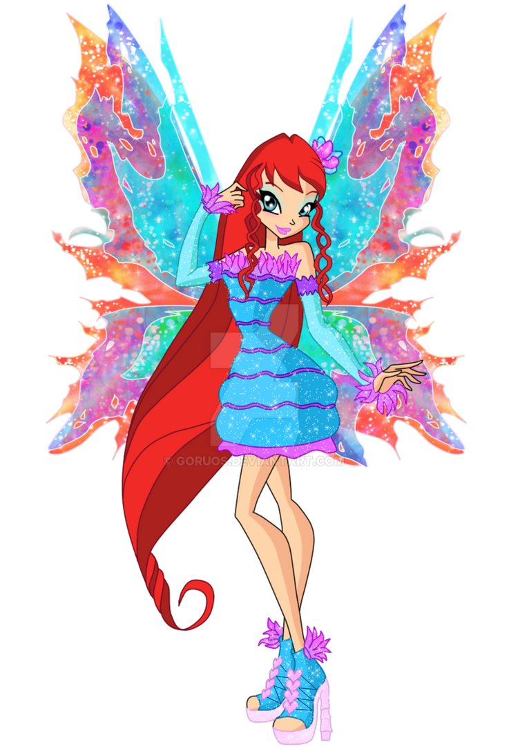 Winx club musa flyrix coloring pages coloriage -  Bloom S Mythix 2d Winx Club 6 By Goruos On Deviantart Coloriage Winx Club Musa Flyrix Coloring Pages