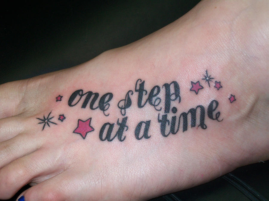 Pin one time i was so drunk chicks with tattoos who are for Tattoo one step at a time