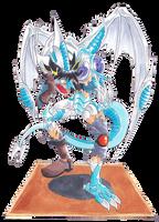 Yusei into Stardust Dragon by midorimushiG