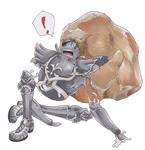 Haar into his armor 03