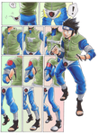 Asuma in the herosuit 01