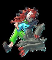 Zoroark Slime by midorimushiG