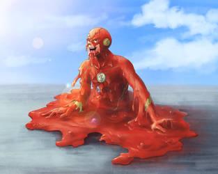 Melted Flash by midorimushiG