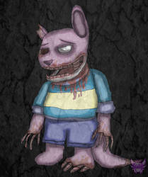 (Requested) Horror - AuStIn by tanarathedragon
