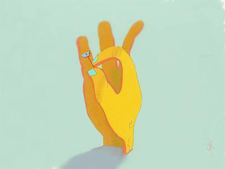 Plain Hand by Anastasiy