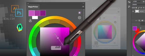 Tip79:Shift+click slightly adjusts Photoshop color by Anastasiy