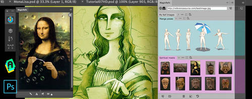 MagicRefs panel - easy life with reference images! by Anastasiy