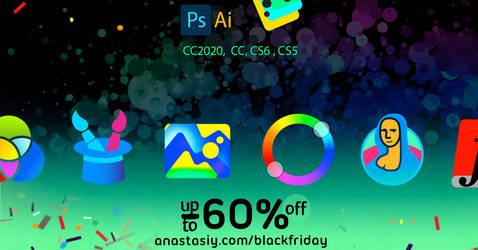 Photoshop panels: Giga Sale 2019