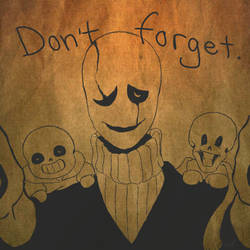 Don't forget.