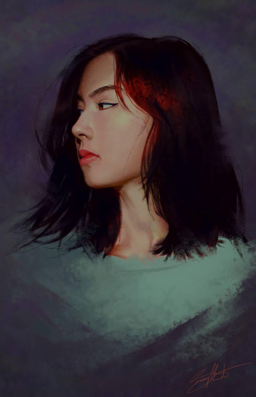 Lauren Tsai by AmbiguityArt