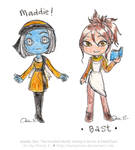38-20 Maddie and Bast | The Hundred Worlds