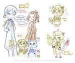 42-054 [RO] Random Doodles by EarlyOnion