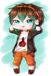 Chibi Jin for Yume by Tianshii-Chan
