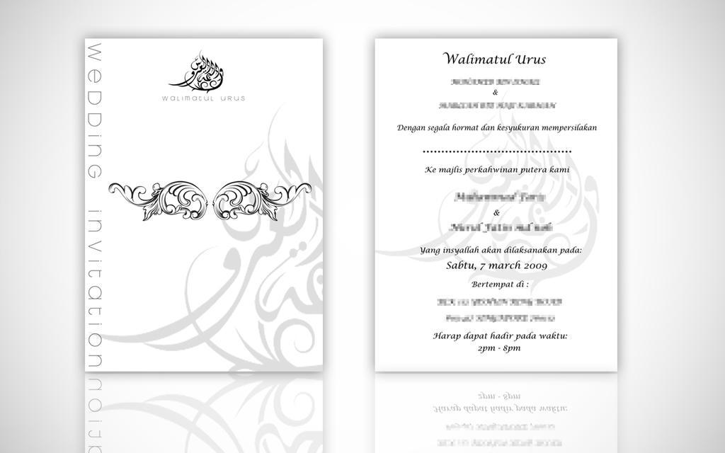 Malay wedding card by 69efan69 on deviantart malay wedding card by 69efan69 stopboris Choice Image