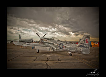 P-51 Mustang by GhostInKernel32