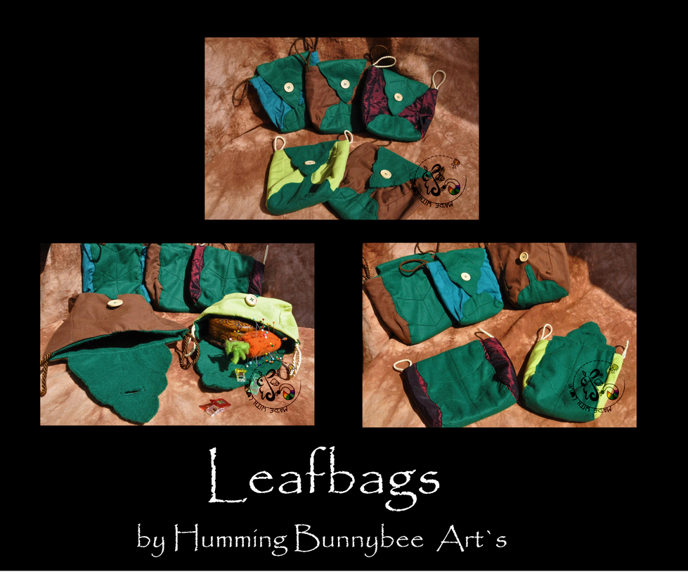 Leafbags by ScribblingRabbit-Art