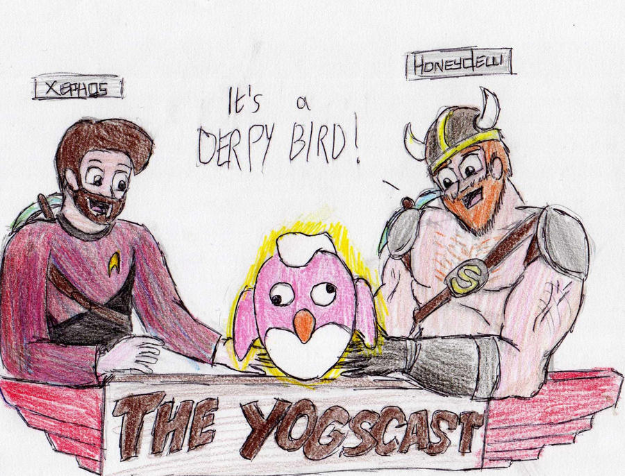 The Yogscast - Derpy Bird by sparkplug96