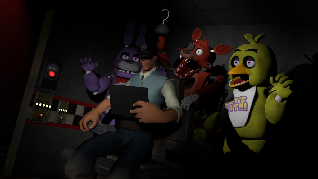 Five nights at freddy's by Grido555