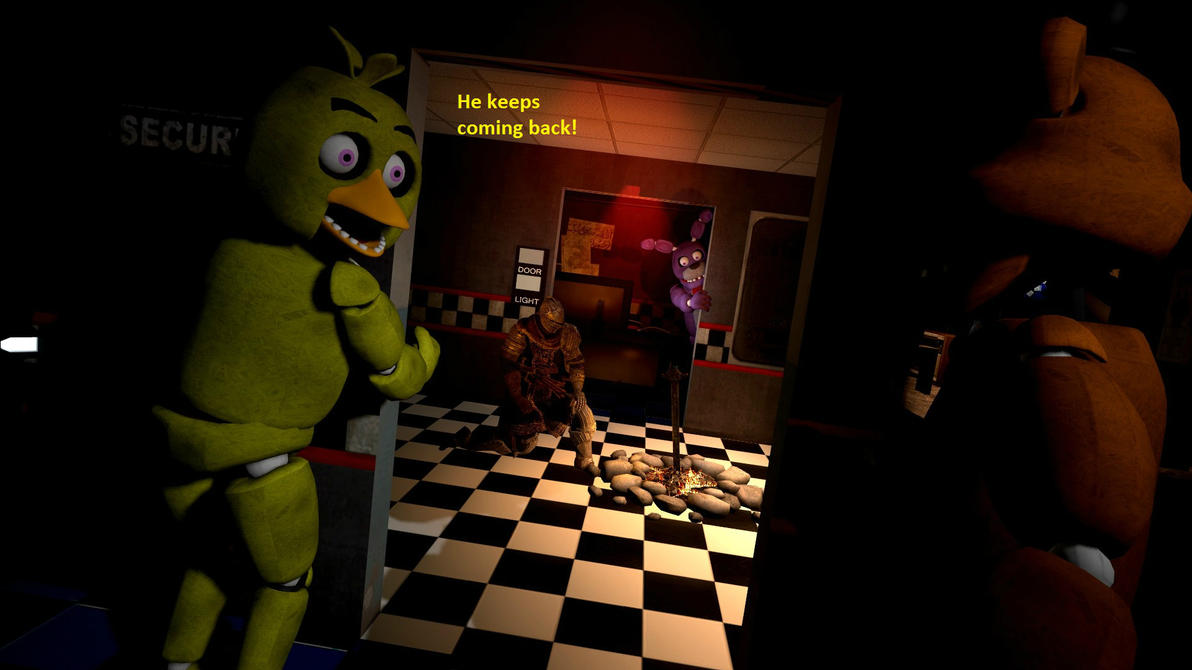 Five nights at freddy's: Where is Mikel? by Grido555
