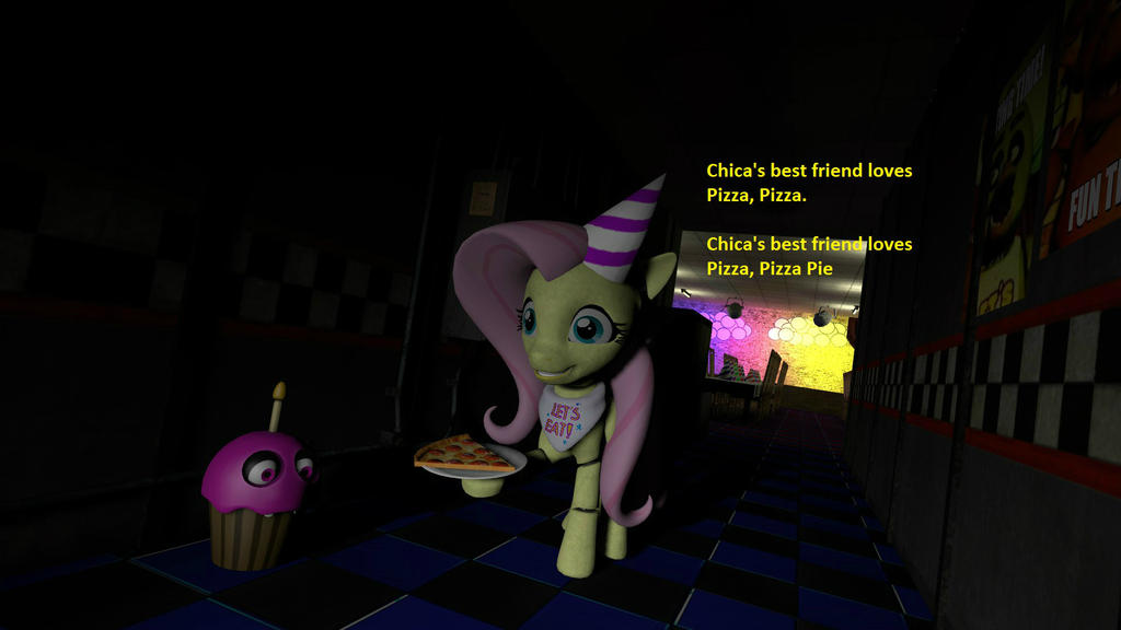 FNAE: Chica tiny song by Grido555