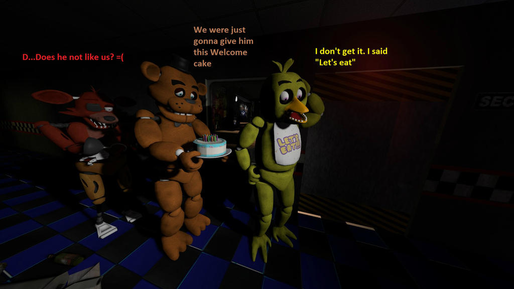 Five nights at freddy's: Bad start by Grido555