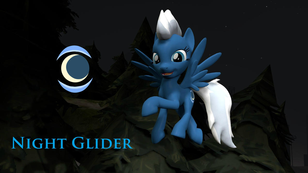 MLP: Night Glider (eye FIX) [download] by Grido555
