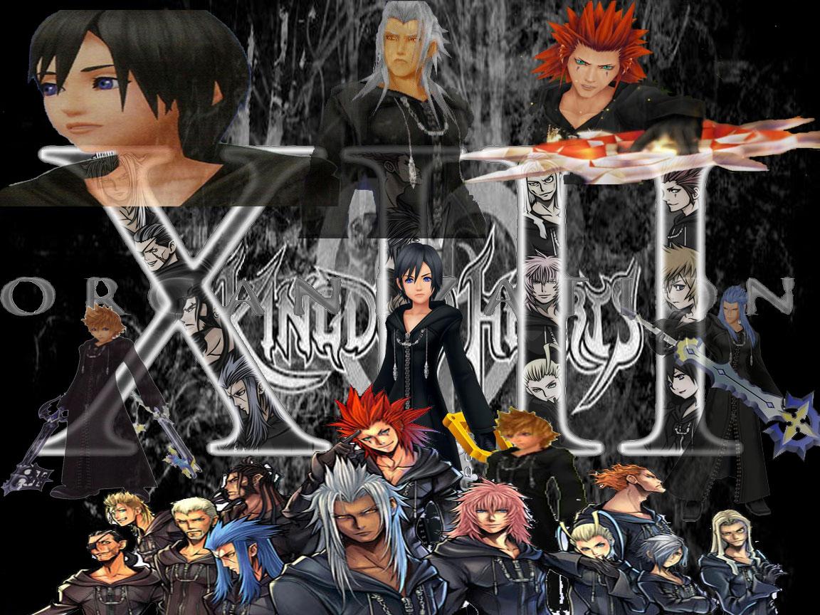 Organization XIII Wallpaper by HakuHiddenMist on deviantART Kingdom Hearts Organization 13 Wallpaper