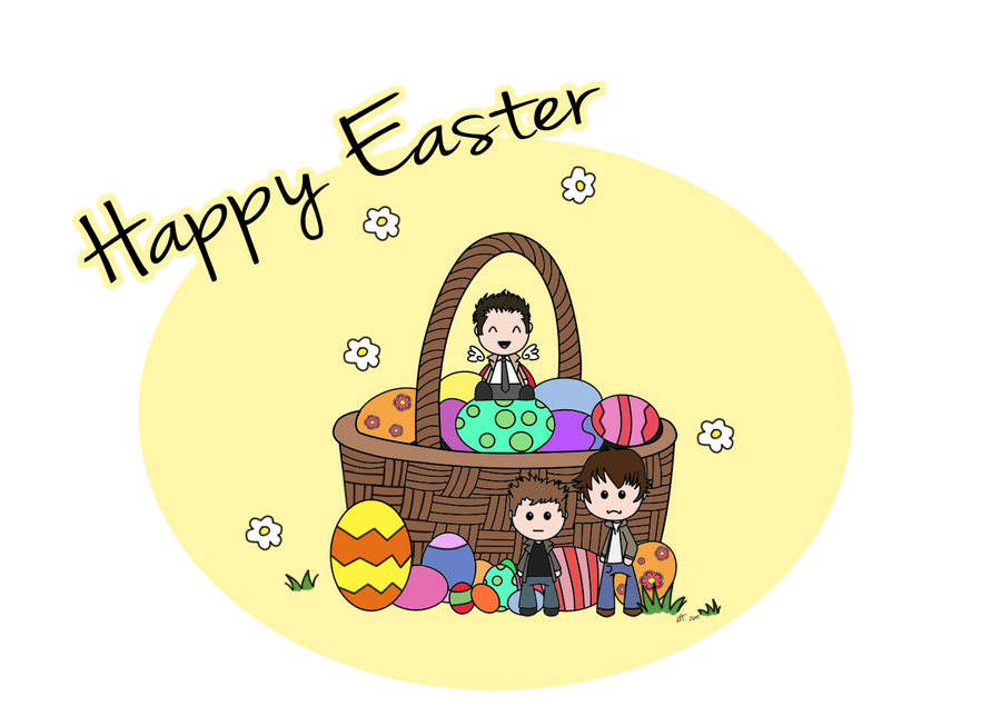 Happy Easter's Day   Happy_spn_easter_by_mishlee-d4v5v6s