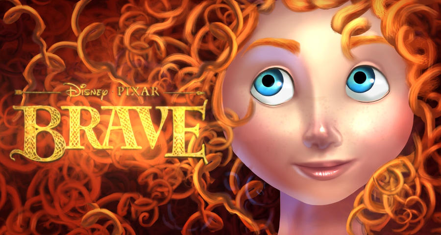 Brave fan art merida by ishirinNOhana25