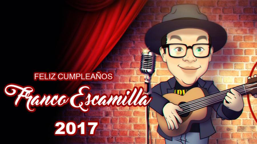 Happy birthday Franco Escamilla by ishirinNOhana25