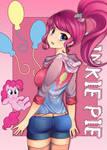 Human Mane 6: Pinkie Pie