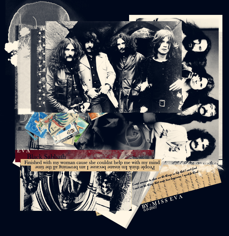 Black Sabbath by Miss eva