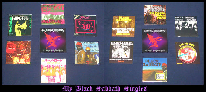 +The Black Sabbath Singles+