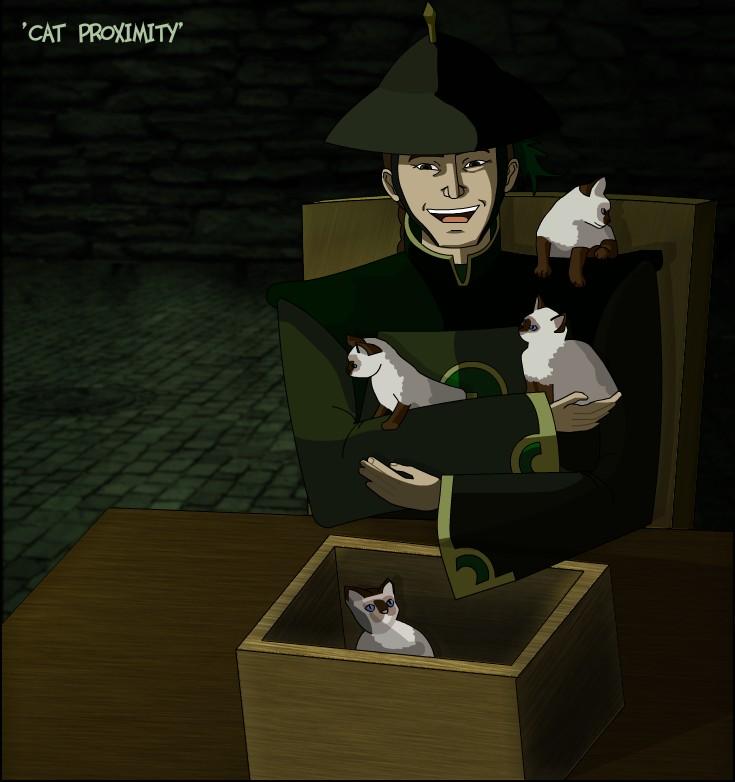 """""""Cat Proximity"""" by ragedaisy"""