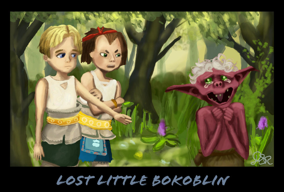 Lost Little Bokoblin by ragedaisy