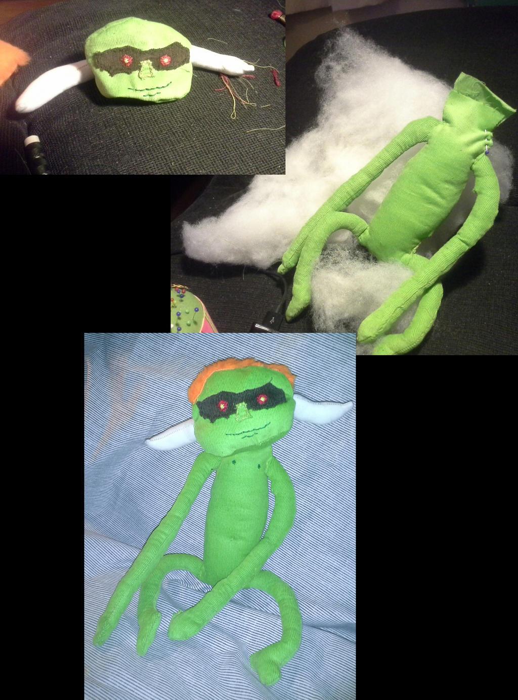 bulblin doll WIP by ragedaisy