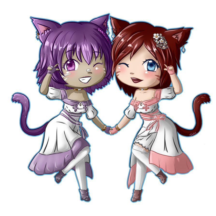 Yana and Shania by ccolors95