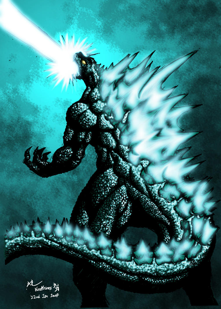 Godzilla The Great by nineknives