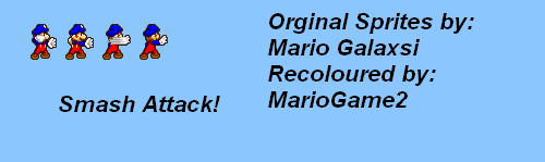 MarioGame2 - Smash Attack by MarioGame2