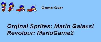 MarioGame2 - Game-Over by MarioGame2