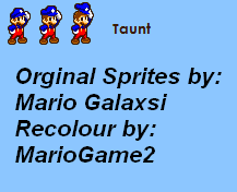 MarioGame2 - Taunt by MarioGame2