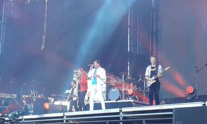 Duran Duran at Lollapalooza by Defleshed-Martyr