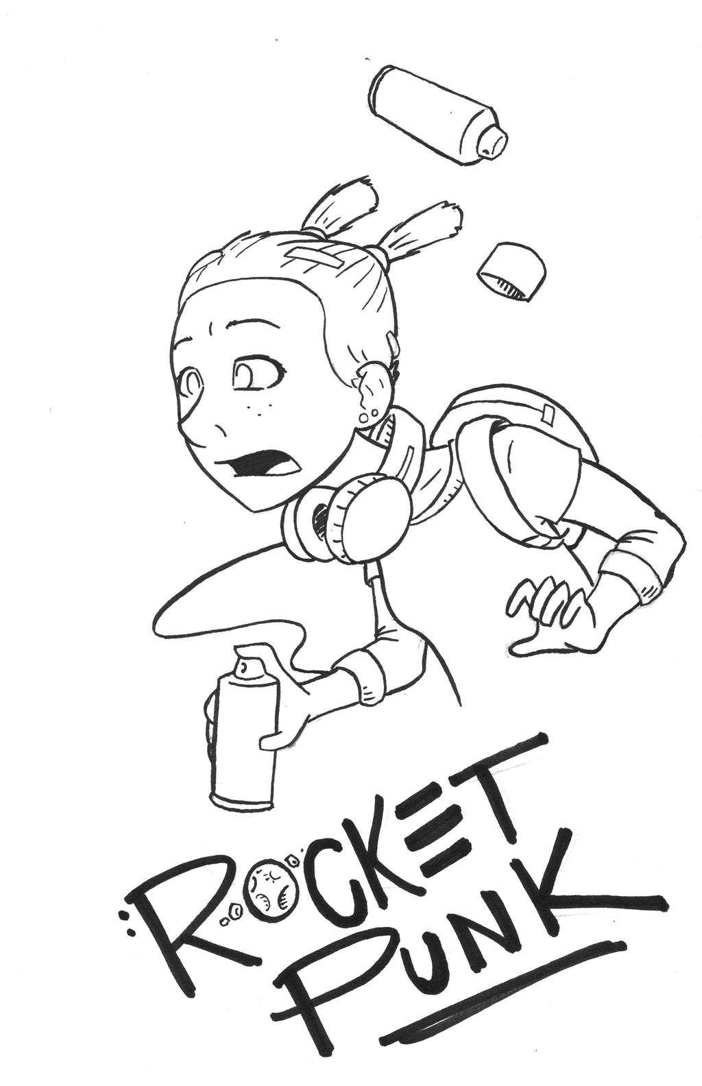 Rocket Punk by CarbonComic