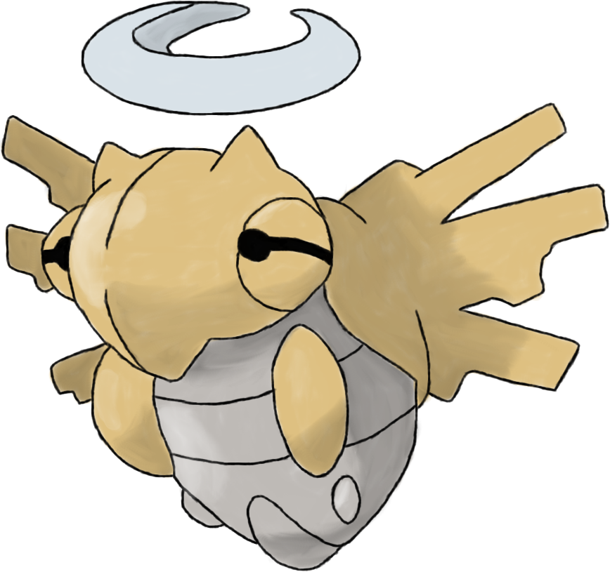 Shedinja Sturdy Pokemon Qr Codes Images Pokemon Images
