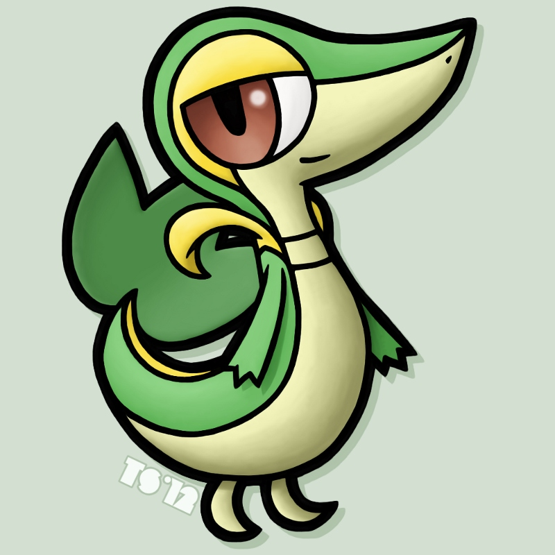 Snivy by TheSerotonin