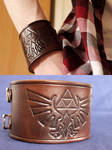 The Legend of Zelda Leather Cuff