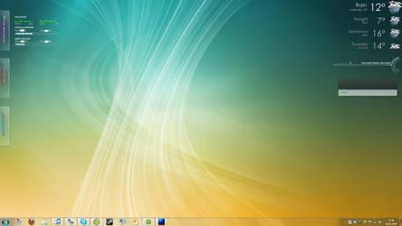 Rainmeter Desktop by DxGamer